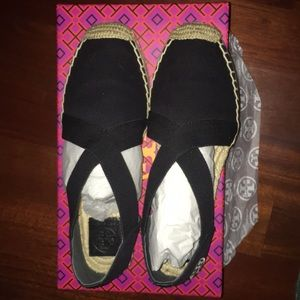 e2b1d974b5d Tory Burch Shoes - BRAND NEW Tory Burch Catalina Espadrilles- Black